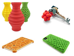3D printed plastic products